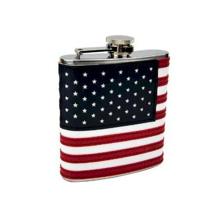 6oz stitched american flag -