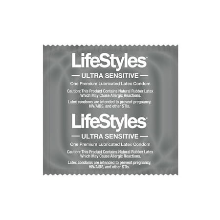 LIFESTYLES ULTRA SENSITIVE CONDOMS Bulk of 50