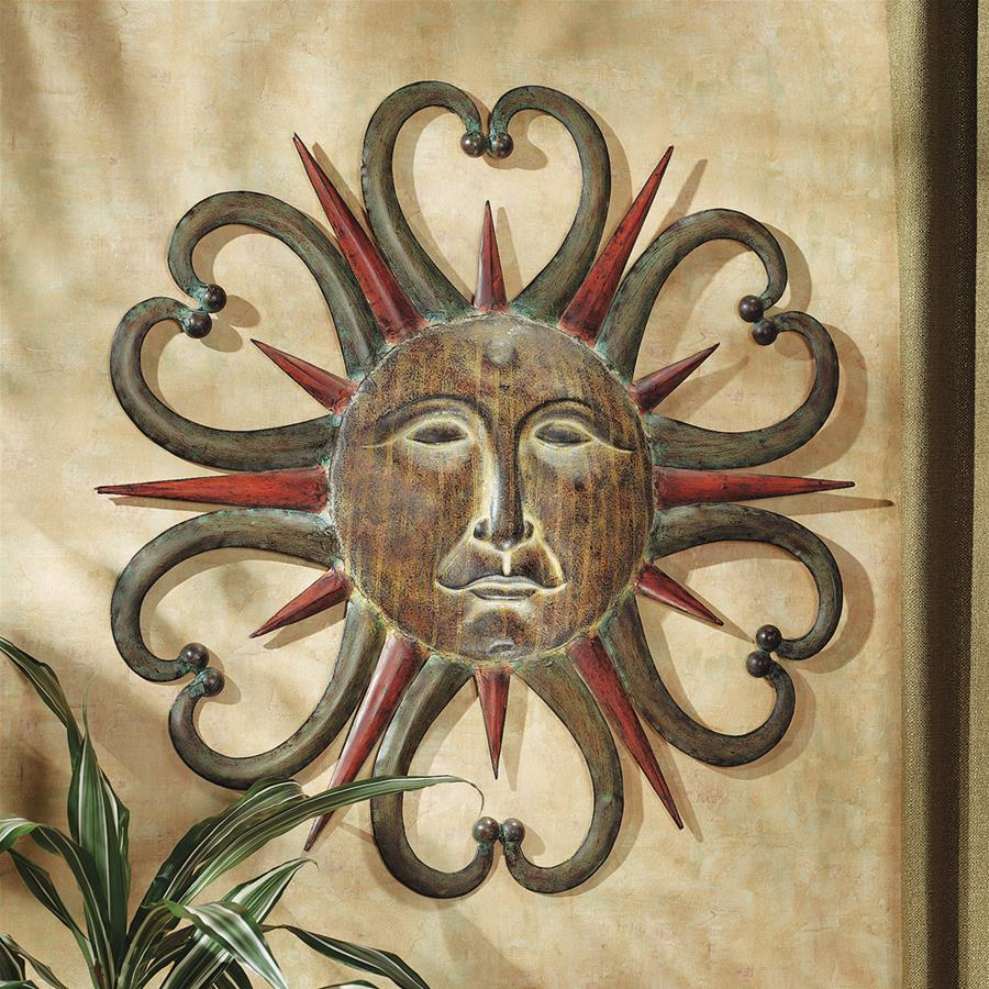 Dance of the Sun Metal Wall Sculpture