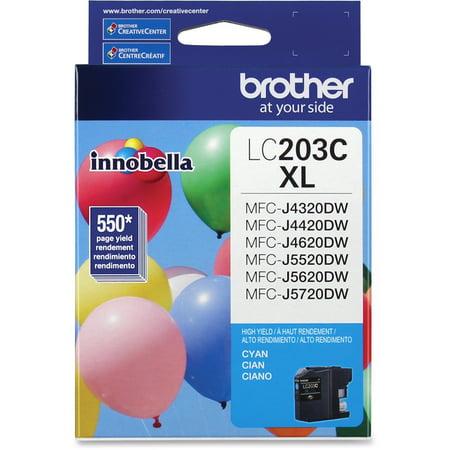 Brother LC203C Innobella High-Yield Ink, Cyan