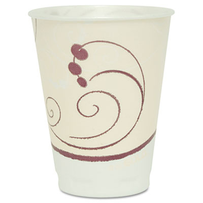Symphony Design Trophy Foam Hot/Cold Drink Cups SLOX12J8002PK