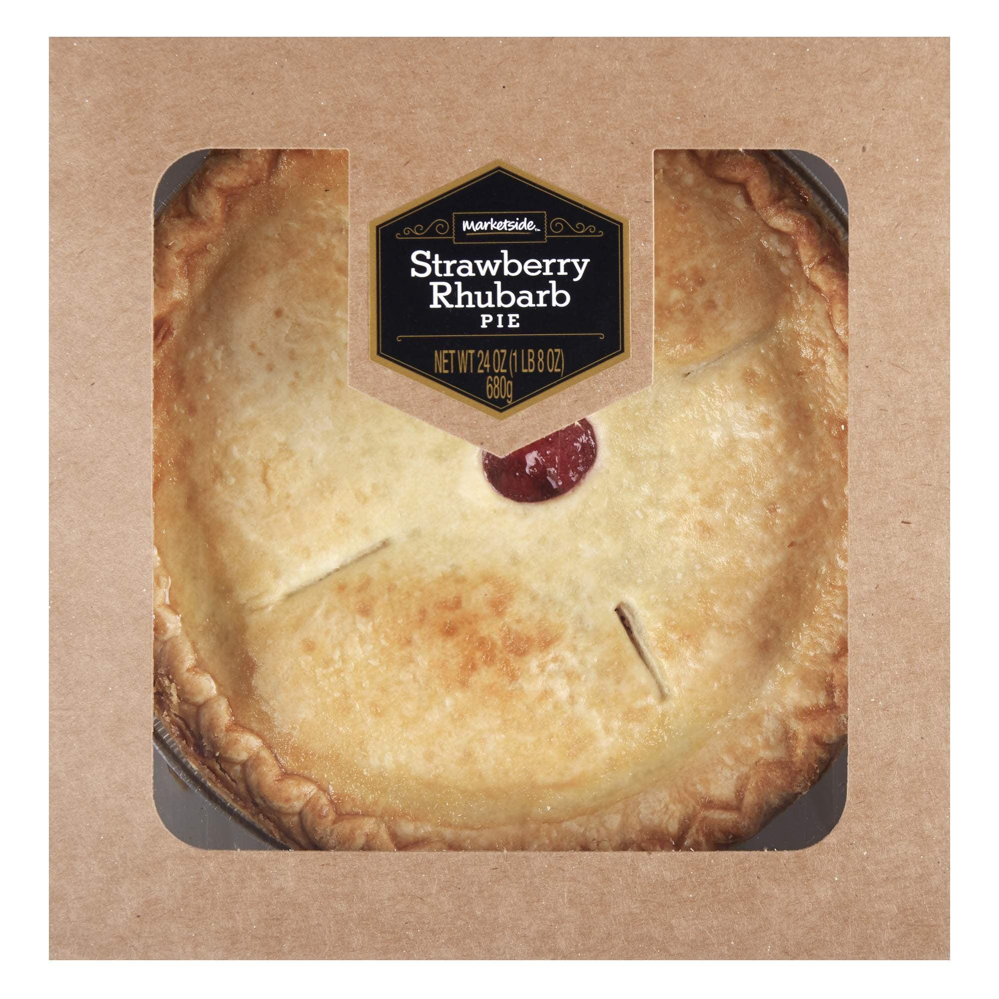 Marketside Strawberry Rhubarb Pie, 24 oz