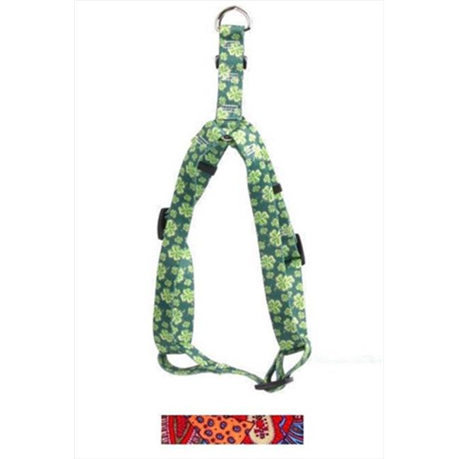 Yellow Dog Design SI-BHPW103L Bohemian Patchwork Step-In Harness - Large