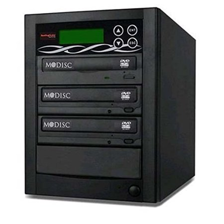 Bestduplicator BD-SMG-2T 2 Target 24x SATA DVD Duplicator with Built-In M-Disc Support Burner (1 to