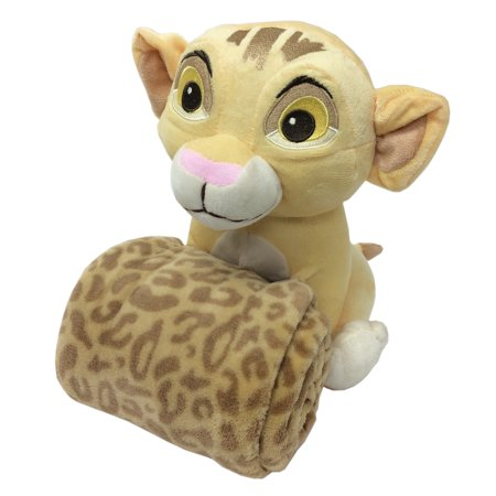 Disney Lion King Simba's Wild Adventure Super Soft Plush and Blanket Gift