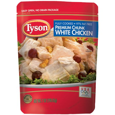 Tyson Premium Chunk White Chicken Breast  7 Oz