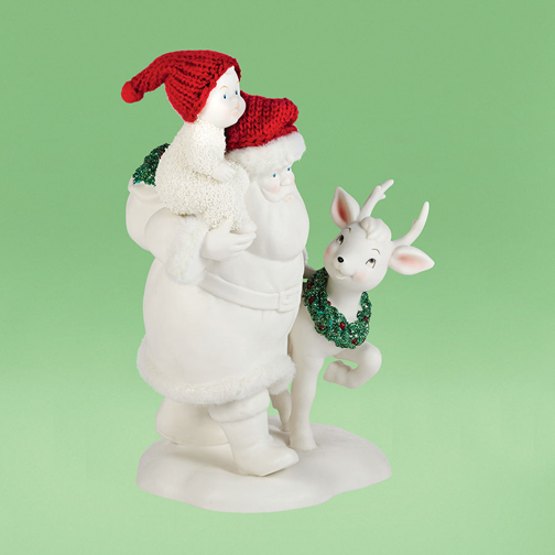 Department 56 Snowbabies 4039688 Playdate With Santa  2014