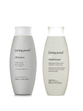($54 Value) Living Proof Full Shampoo and Full Conditioner Duo, 8 Oz