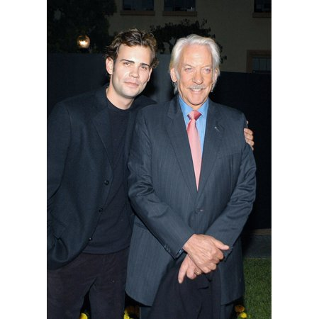 Rossif Sutherland Donald Sutherland At Arrivals For Dirty Sexy Money Series Premiere & Afterparty Paramount Theatre Los Angeles Ca September 23 2007 Photo By Tony GonzalezEverett Collection Celebrity