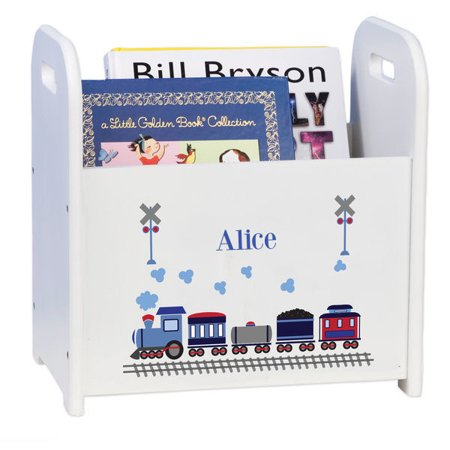 - Personalized Train Caddy and Book Rack