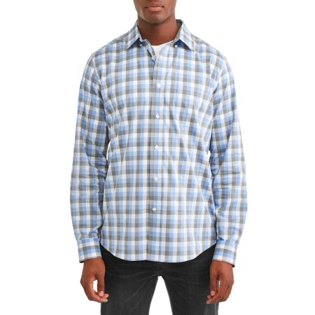 Season Long Sleeve Top (George Long Sleeve Poplin Shirt up to 5XL )