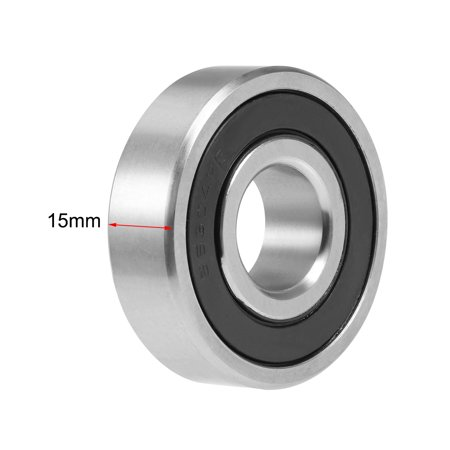 S6304-2RS Stainless Steel Ball Bearing 20x52x15mm Double Sealed 6304RS Bearings - image 1 de 4