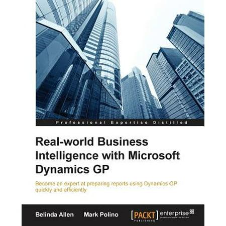 - Real-World Business Intelligence with Microsoft Dynamics GP 2013
