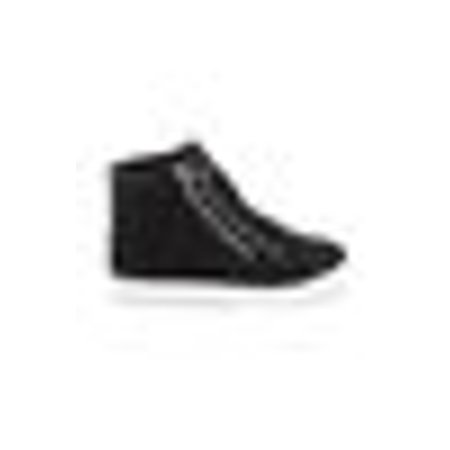 Soho Shoes Women's Leatherette Quilted Zipper Lace Up High Top Sneakers - White Dress Ivory Shoes
