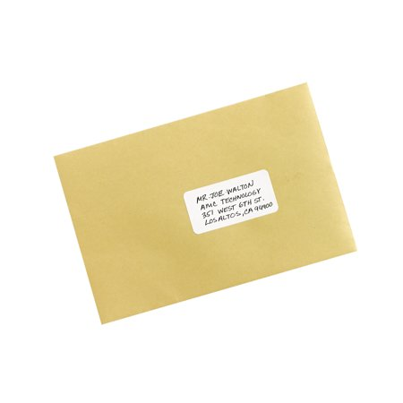 Avery Print Or Write Removable Multi Use Labels 1 12 X 3 White