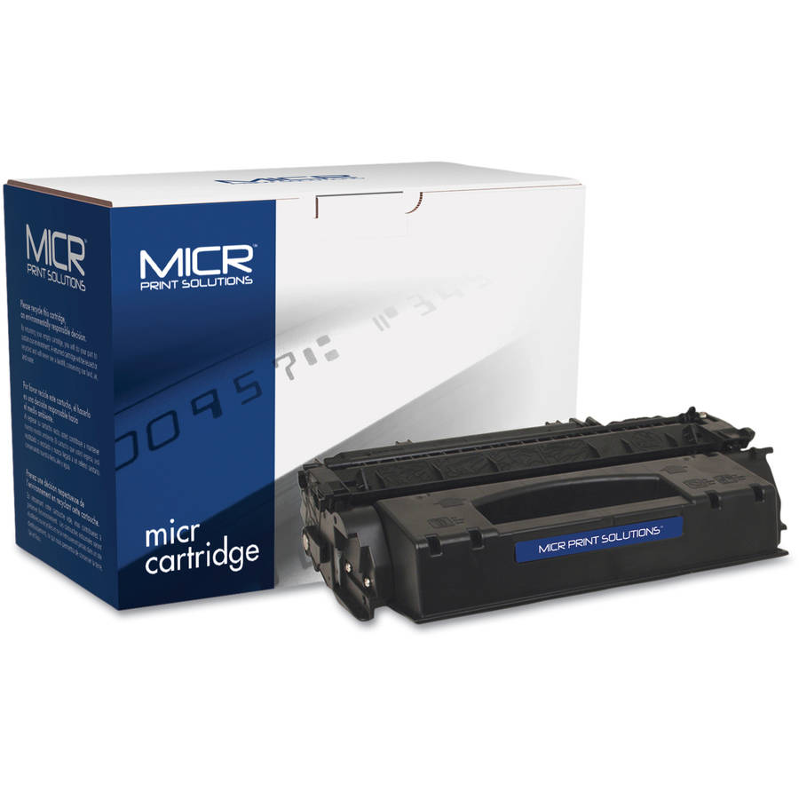 MICR Print Solutions Compatible with Q7553XM High-Yield MICR Black Toner Cartridge