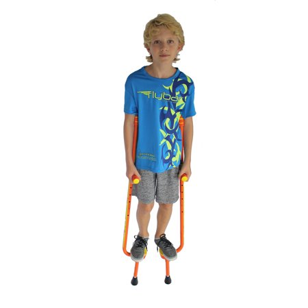 Flybar Master Walking Stilts For Kids Ages 9 & Up, Up to 200