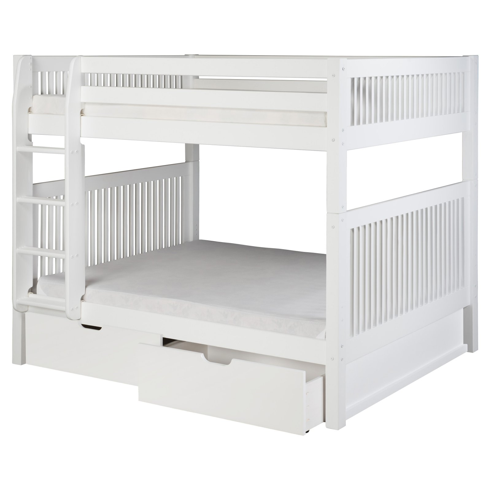 Camaflexi Mission Headboard Full over Full Bunk Bed by Eco-Flex