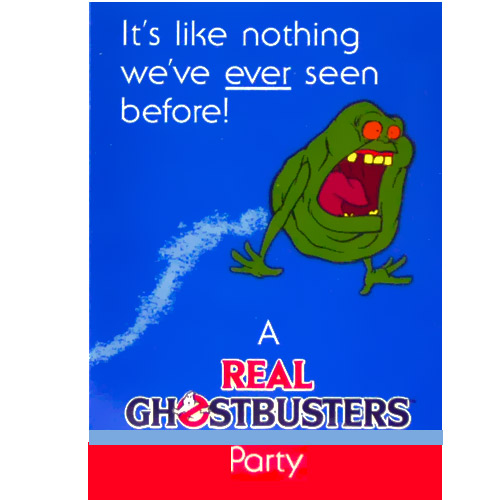 Ghostbusters Invitations w Envelopes 8ct Walmartcom