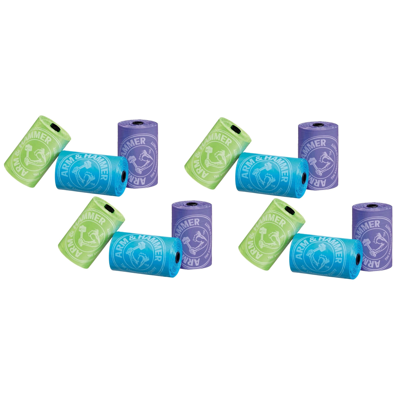 Munchkin  Arm & Hammer Diaper Bag Refills - 36 Bags (Set of 4)