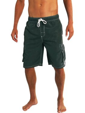 aea30f5c0e Mens Big & Tall Swim Trunks - Walmart.com
