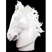 Resin Horse Bust