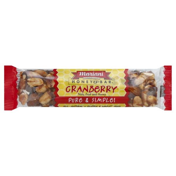 Mariani Cranberry Honey Bar, 1.4 oz