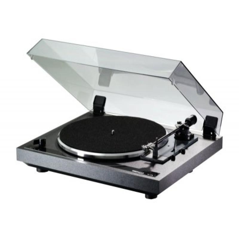 Thorens TD170 3-Speed Automatic Belt Drive Turntable (Black)