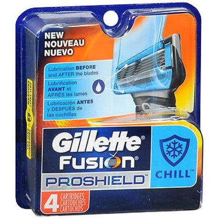 Gillette Fusion5 ProShield Chill Men's Razor Blades (Choose Count)
