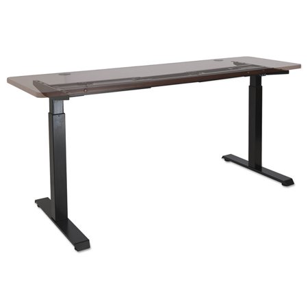 Alera Stage Electric Adjustable Table Base To High Black
