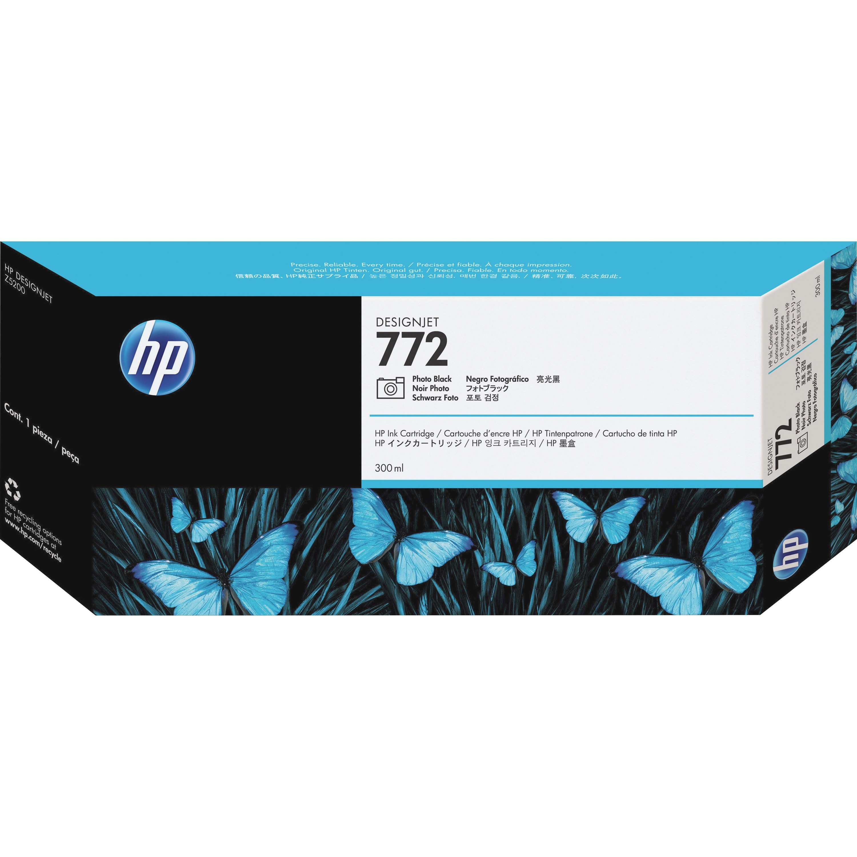 HP, HEWCN633A, CN629A thru 36A Series 772 Ink Cartridges, 1 Each