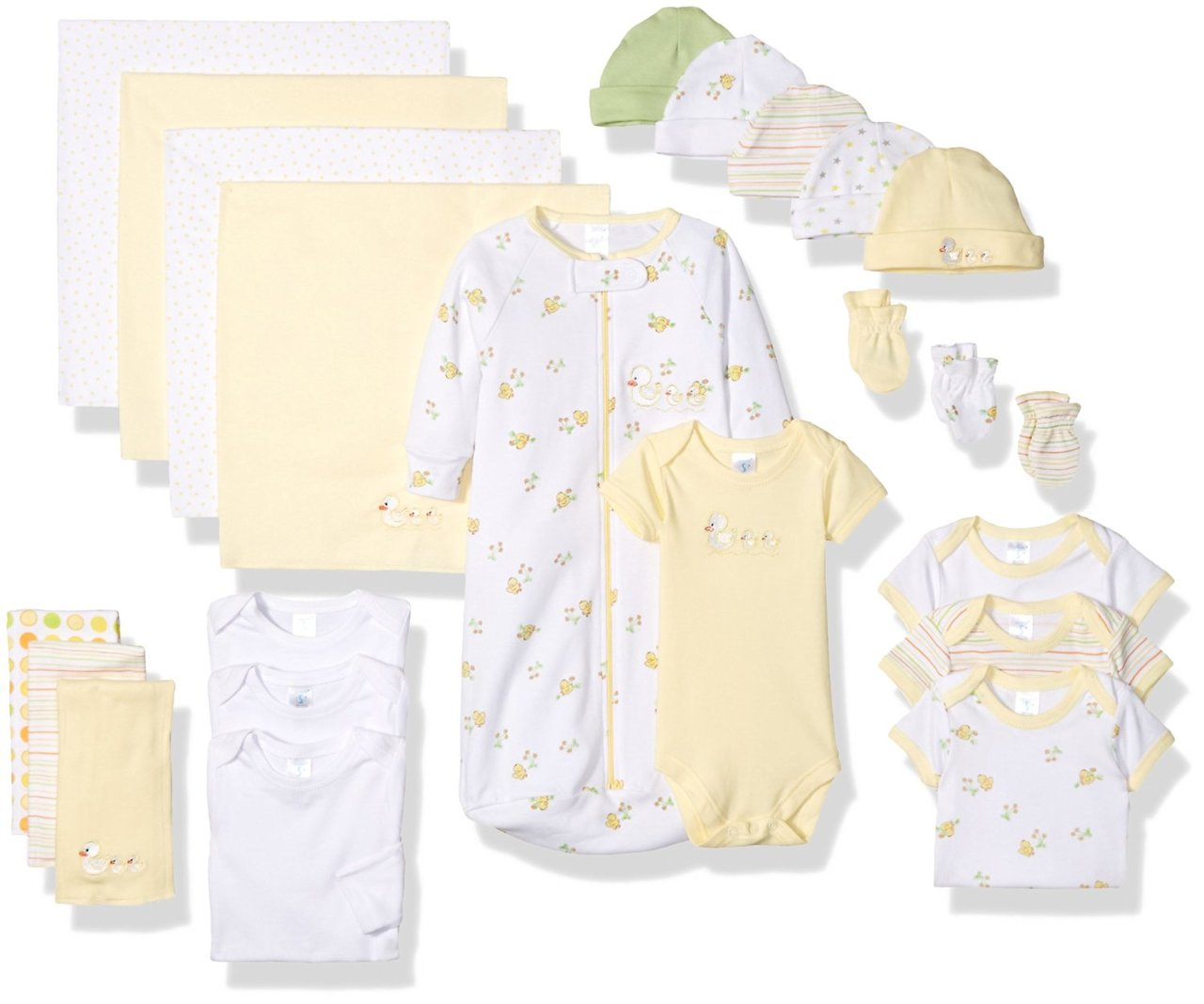 Spasilk Spasilk Baby Shower Layette Gift Set 23pc Baby