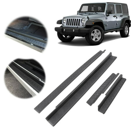 Gzyf Front Rear Entry Guards Door Entry Sill Scuff Plate
