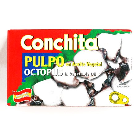 Conchita Octopus in Soybean Oil  9.5 oz each (6 Items Per Order)