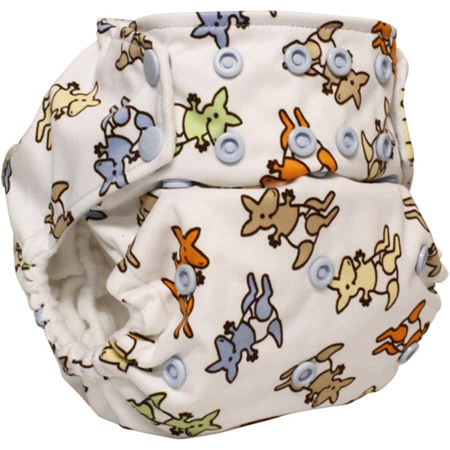 Snap Kanga Care Rumparooz One-Size Cloth Pocket Diaper Dragons Fly