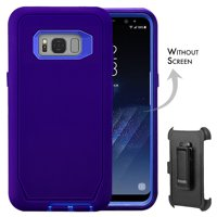 Galaxy S8 + Case, [Full body] [Heavy Duty Protection] Shock Reduction / Bumper Case WITHOUT Screen Protector for Samsung Galaxy S8 Plus 2017 Release