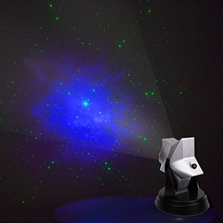 Laser Twilight Stars Projector - Indoor Light Show with Stars to fill the whole