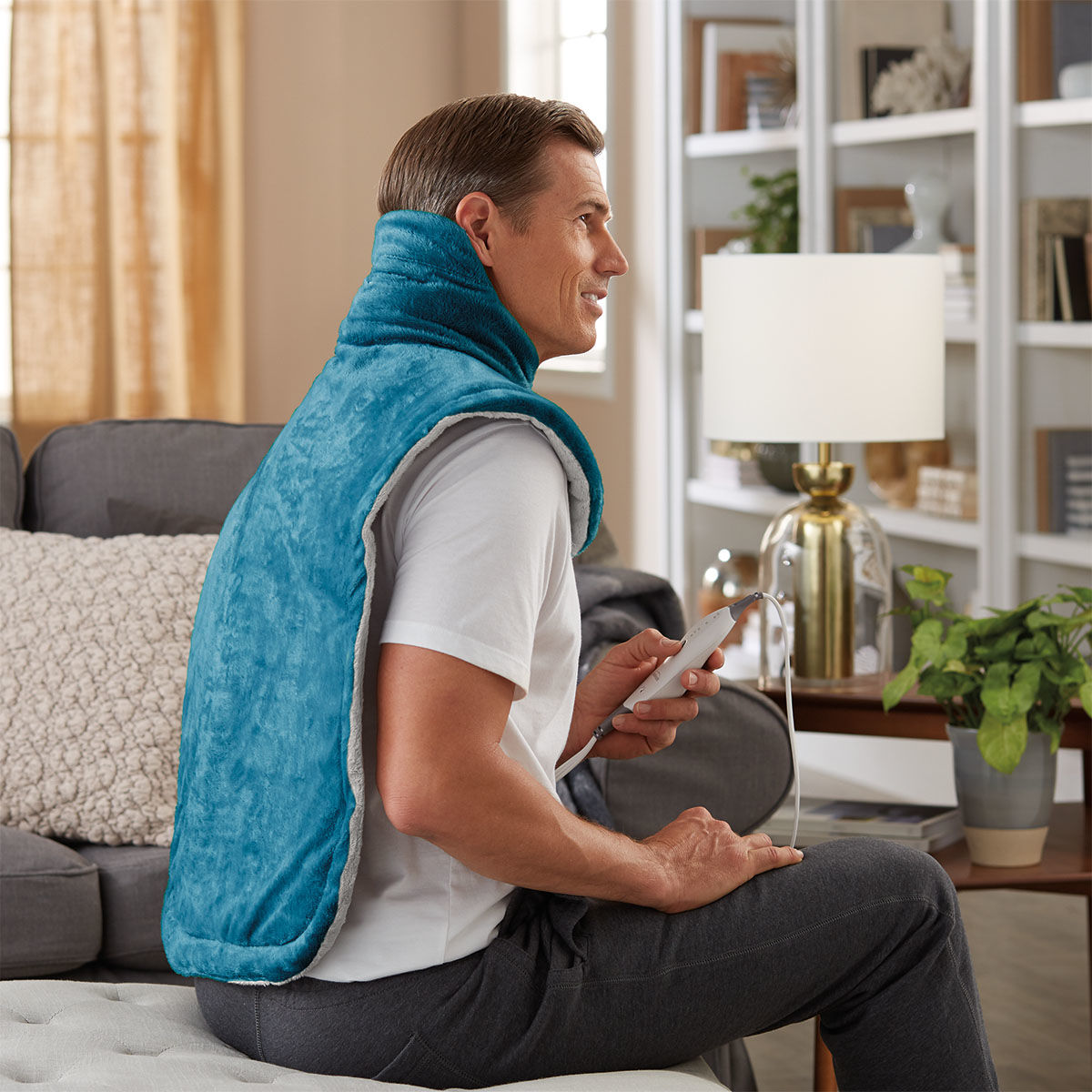 Sunbeam Renue Neck & Back Wrap, Teal, 22x33