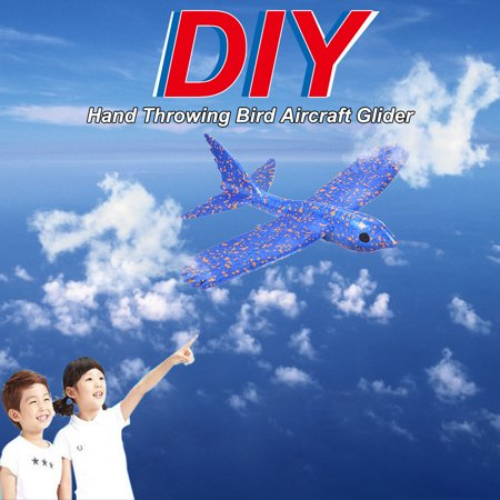 Throwing Glider Airplane EPP Inertia Aircraft Hand Launch Airplane Bird