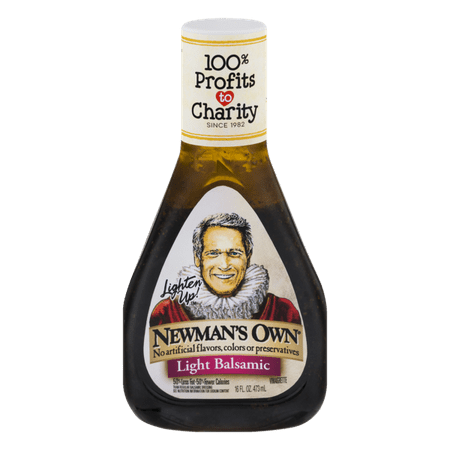(2 Pack) Newman's Own Light Balsamic Vinaigrette, 16 (Best Balsamic Dressing Recipe)