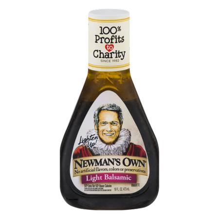 (2 Pack) Newman's Own Light Balsamic Vinaigrette, 16