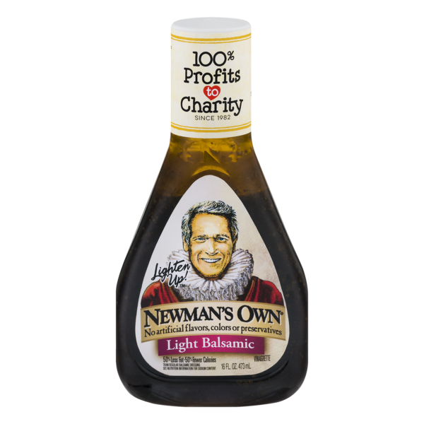 Newman's Own Light Balsamic Vinaigrette, 16 Oz