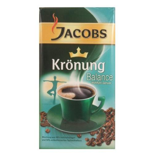 Jacobs Coffee Kronung Balance Ground Coffee,Net Wt 17.6 Oz  (Pack of 3)