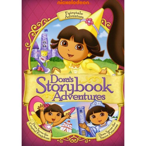 Dora The Explorer: Dora's Storybook Adventures Gift Set - Dora's Fairytale Adventure / Dora Saves The Crystal Kingdom / Dora Saves The Snow Princess (Full Frame)