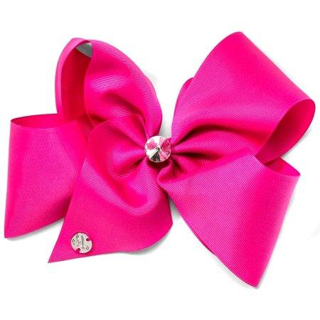 Nickelodeon JoJo Siwa Large Pink Bow with Rhinestone