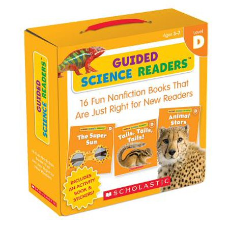 Guided Science Readers: Level D : 16 Fun Nonfiction Books That Are Just Right for New Readers - Level D