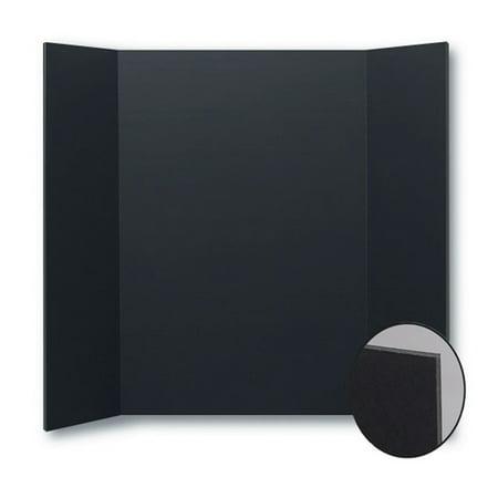 """Flipside Foam Project Board, 36"""" x 48"""", Black, Pack of 10"""