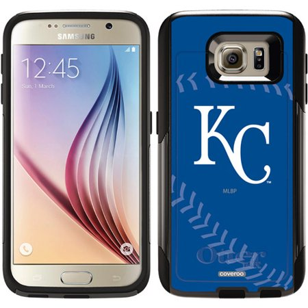 kansas city royals stitch design on otterbox commuter series case for samsung galaxy s6. Black Bedroom Furniture Sets. Home Design Ideas