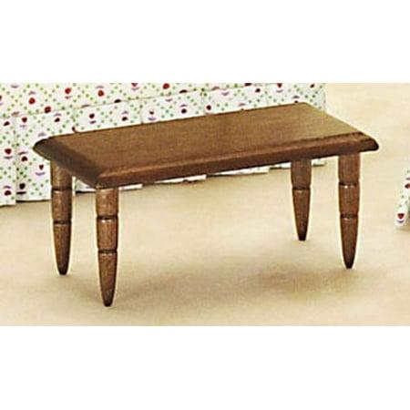 Dollhouse Coffee Table, Walnut