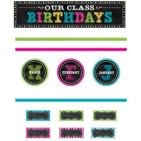 Teacher Created Resources TCR5506 Chalkboard Brights Mini Bulletin Board Set](Chalkboard Bulletin Board)